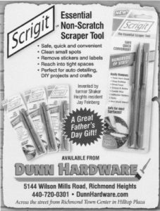 Scrigit Newspaper Ad