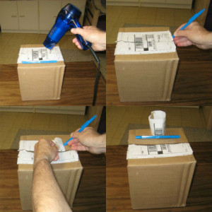 Removing box labels