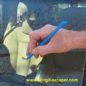 scraping tree sap