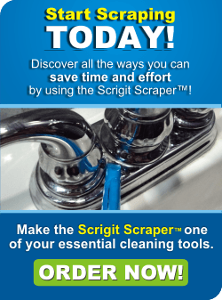 Start scraping today! Discover all the ways you can save time and effort by using the Scrigit Scraper! Make the Scrigit Scraper one of your essential cleaning tools. Order now!