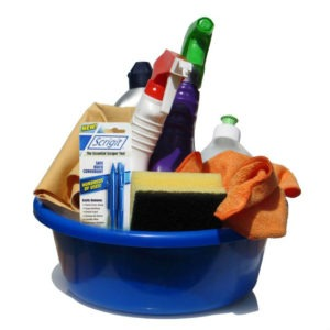 cleaning supplies for a cleaner house