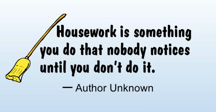 Housework Quote