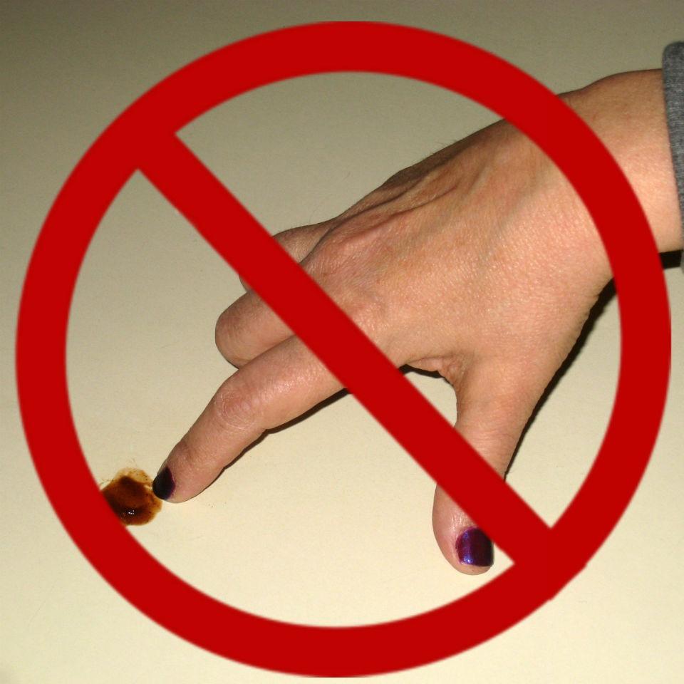 no breaking fingernails
