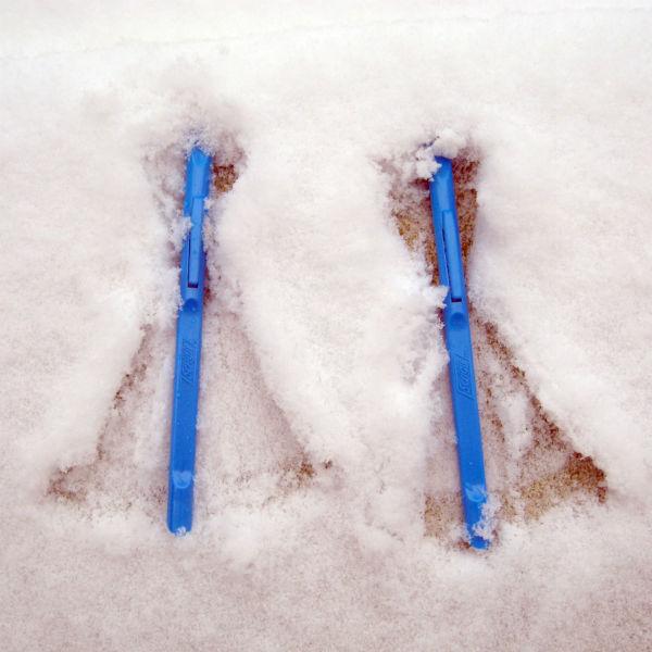 Scrigit Scrapers in Snow