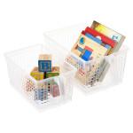 mess-free storage baskets