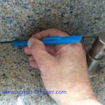 mess-free edges with Scrigit Scraper