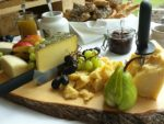 December holidays cheese board