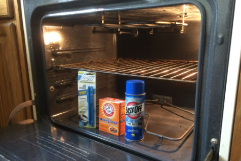 Cleaning oven supplies