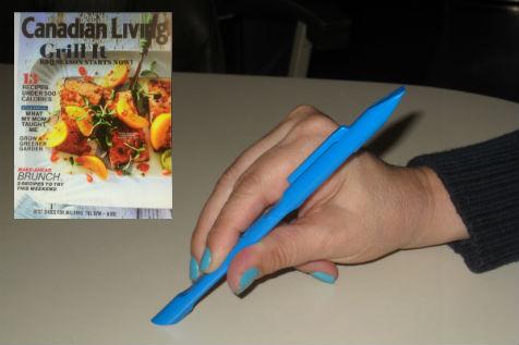 Canadian Living magazine featuring Scrigit Scraper