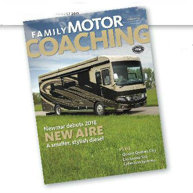 Family Motor Coaching magazine cover