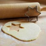 star salt dough ornament