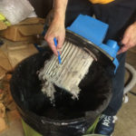 Cleaning vac filter