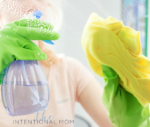 Intentional Mom cleaning tasks