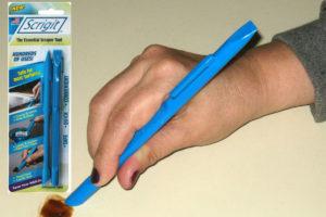 hand holding Scrigit Scraper