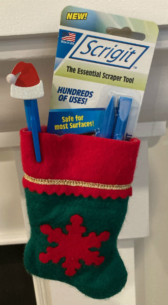 Mommy's Block Party chooses Scrigit Scraper for Stocking Stuffer